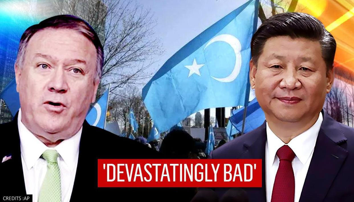 Pompeo slams China for curtailing Uyghurs' religious freedom; compares it to Nazi Germany
